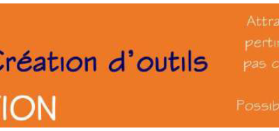 Formation «Création d'outils»