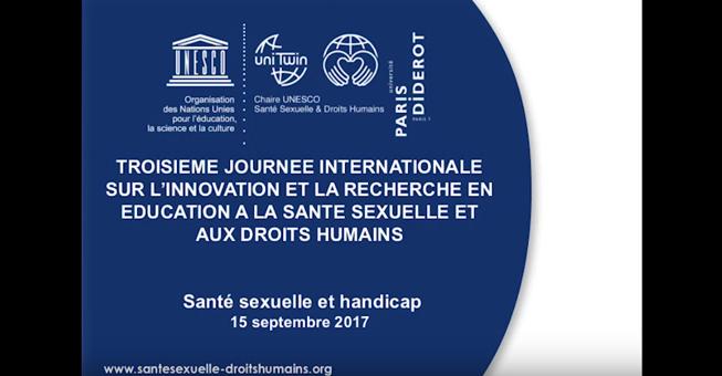 Conférence « Le droit à la sexualité des personnes en situation de handicap »