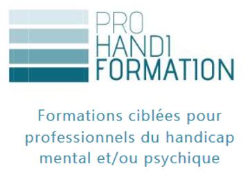 Formation ciblée pour les professionnel.le.s du handicap mental et / ou psychique