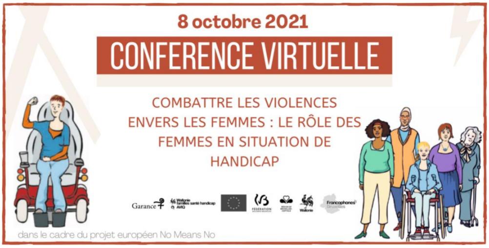 """Conférence virtuelle """"Combattre les violences envers les femmes : le rôle des femmes en situation de handicap"""""""